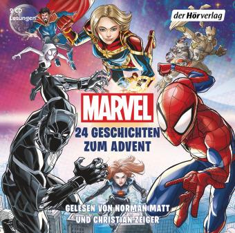 MARVEL - 24 Geschichten zum Advent