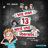 Wie man 13 wird und überlebt, 2 Audio-CD Cover