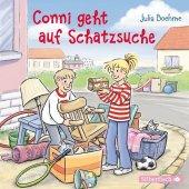 Conni geht auf Schatzsuche, 1 Audio-CD Cover