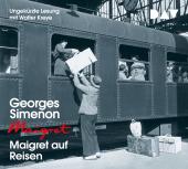 Maigret auf Reisen, 4 Audio-CD