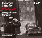 Maigret beim Minister, 4 Audio-CD