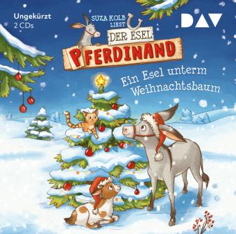 Der Esel Pferdinand - Ein Esel unterm Weihnachtsbaum, 2 Audio-CD