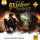 Skulduggery Pleasant - Die Rückkehr der Toten Männer + Das Sterben des Lichts, 4 Audio-CD, MP3