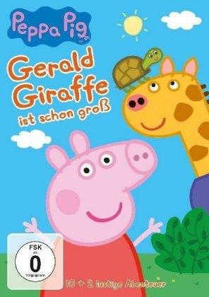 Peppa Pig - Gerald Giraffe ist schon groß, 1 DVD