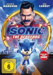 Sonic the Hedgehog, 1 DVD Cover