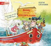 Benny und die Waschbärbande - Die Reise mit der Flotten Flaute, 1 Audio-CD