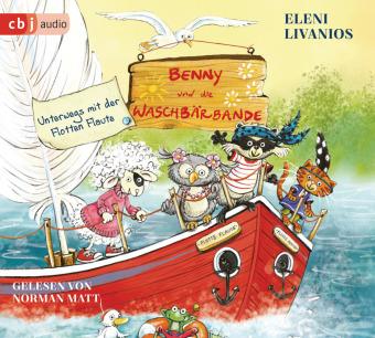 Benny und die Waschbärbande - Unterwegs mit der Flotten Flaute, 1 Audio-CD