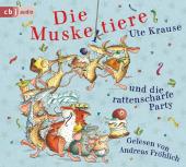 Die Muskeltiere und die rattenscharfe Party, 2 Audio-CD