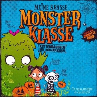 Meine krasse Monsterklasse - Kettenrasseln mit Kellerasseln, 1 Audio-CD
