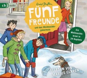Fünf Freunde und das Weihnachtsgeheimnis, 2 Audio-CD