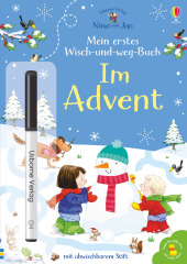 Nina und Jan - Mein erstes Wisch-und-weg-Buch: Im Advent