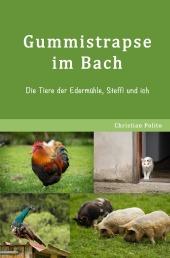 Gummistrapse im Bach