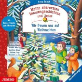 Meine allerersten Minutengeschichten und Lieder: Wir freuen uns auf Weihnachten, Audio-CD Cover