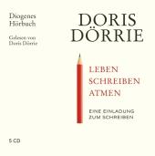 Leben, schreiben, atmen, 5 Audio-CD Cover