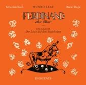 Ferdinand der Stier und Der Löwe auf dem Dachboden, 1 Audio-CD