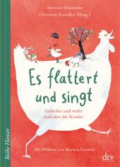Es flattert und singt, Gedichte und mehr und alles für Kinder Cover