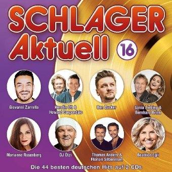 Schlager Aktuell, 2 Audio-CDs