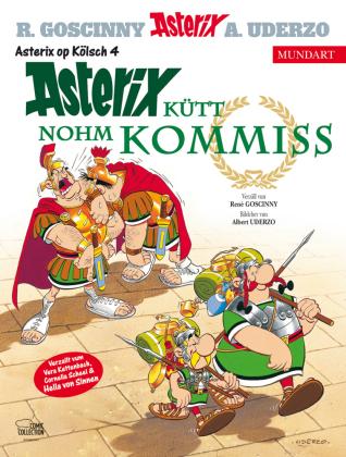 Asterix Mundart - Asterix kütt nohm Kommiss