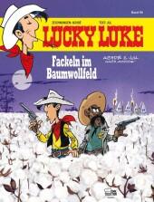Lucky Luke, Fackeln im Baumwollfeld Cover
