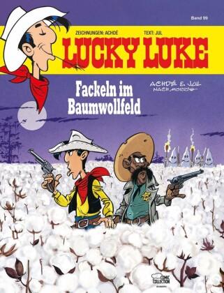 Lucky Luke, Fackeln im Baumwollfeld