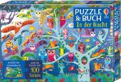 Puzzle und Buch: In der Nacht