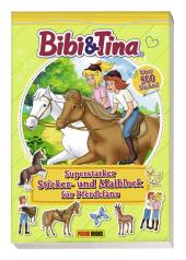 Bibi & Tina - Superstarker Sticker- und Malblock für Pferdefans