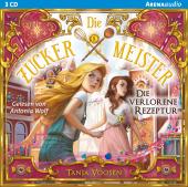 Die Zuckermeister - Die verlorene Rezeptur, Audio-CD