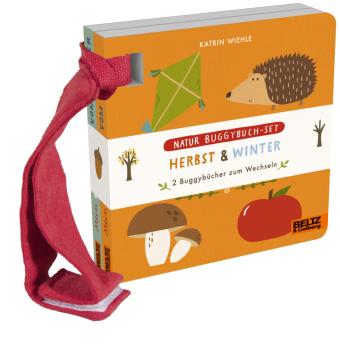 Natur Buggybuch-Set: Herbst und Winter, 2 Vols.