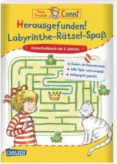 Meine Freundin Conni: Herausgefunden! Labyrinthe-Rätsel-Spaß