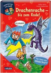 Lesenlernen mit Spaß - Minecraft: Drachenrache - bis zum Ende! Cover
