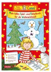 Meine Freundin Conni: Mein tolles Spiel- und Rätselbuch für die Weihnachtszeit