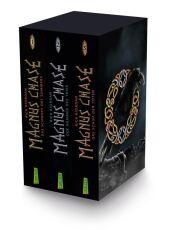 Magnus Chase - Das Schwert des Sommers / Magnus Chase - Der Hammer des Thor / Magnus Chase - Das Schiff der Toten, 3 Bde