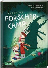 Das Abenteuer-Forscher-Camp Cover