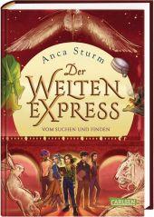 Der Welten-Express - Vom Suchen und Finden Cover