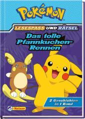 Pokémon: Das tolle Pfannkuchen-Rennen Cover