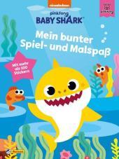 Baby Shark: Mein buntes Stickerbuch