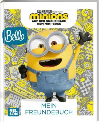 Minions: Auf der Suche nach dem Mini-Boss: Mein Freundebuch, Band 3