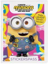 Minions - Auf der Suche nach dem Mini-Boss: Stickerspaß