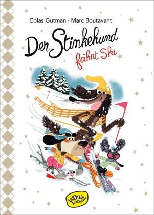 Der Stinkehund fährt Ski
