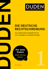 Duden - Die deutsche Rechtschreibung Cover
