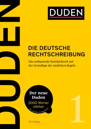 Duden 01 Die deutsche Rechtschreibung