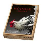 Hühner, Kunstkartenbox