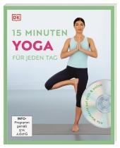 15 Minuten Yoga für jeden Tag, m. DVD Cover