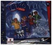 TKKG Junior - 014/Eisige Diamanten, 1 Audio-CD
