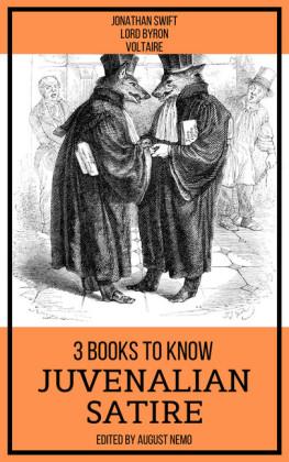 3 books to know Juvenalian Satire