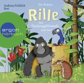 Rille - Die Dschungelfreunde sind los!, 2 Audio-CD Cover