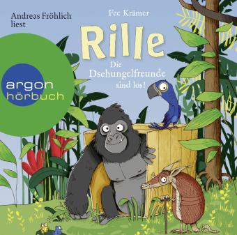 Rille - Die Dschungelfreunde sind los!, 2 Audio-CD