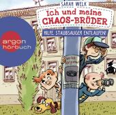 Ich und meine Chaos-Brüder - Hilfe, Staubsauger entlaufen!, 1 Audio-CD