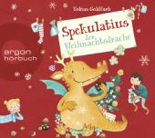 Spekulatius der Weihnachtsdrache, 2 Audio-CD Cover