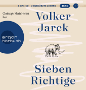 Sieben Richtige, 1 Audio-CD, MP3 Cover